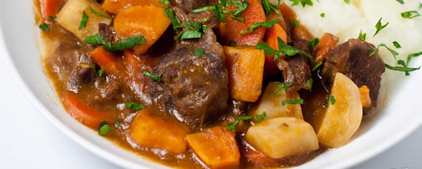 Irish Stew with Parsnips